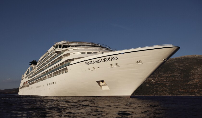 Seabourn Odyssey features menus designed by chef Thomas Keller.