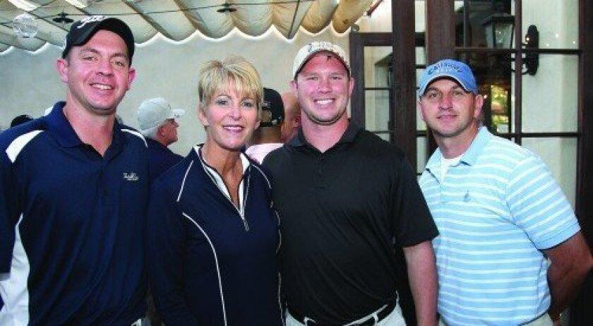 Dustin Witt, Kristy Brehm, Mike Savant, Brian Beverly (Photo: Jon Clark)