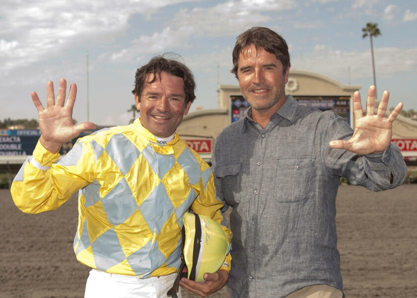 Kent, left, and Keith Desormeaux, shown in 2014, dream of winning the Kentucky Derby together.