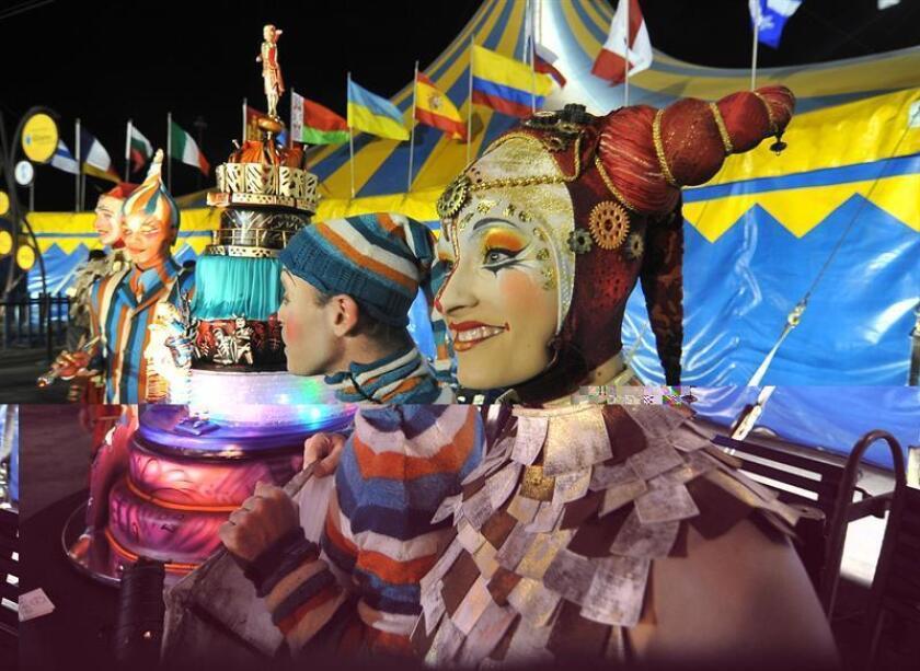 """El Cirque du Soleil estrena en Miami (Florida) su espectáculo """"Kurios: Gabinete de curiosidades"""", en cuyo elenco destacan dos artistas iberoamericanos que tras dar la vuelta al globo llegan a esta ciudad de Florida con la sensación de estar """"como en casa"""". EFE/ARCHIVO"""