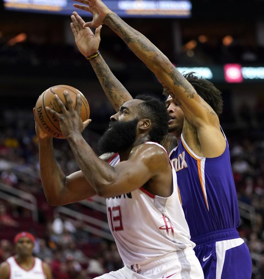 Suns Rockets Basketball