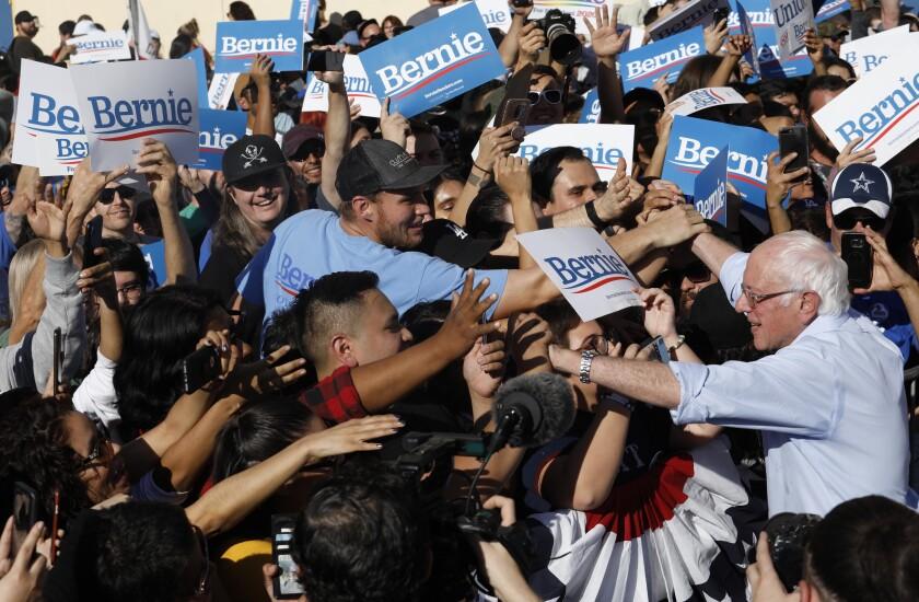 Bernie Sanders in East L.A.
