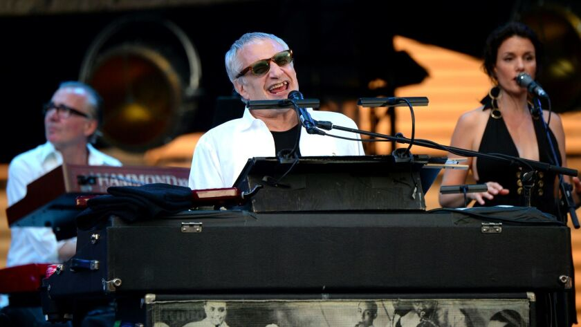 Donald Fagen of Steely Dan said his longtime bandmate Walter Becker was ill.