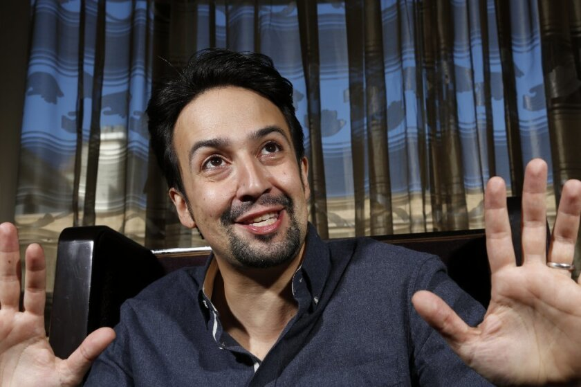 """Tony and Pulitzer Prize winner Lin-Manuel Miranda sings in and wrote the songs for Disney's animated feature, """"Moana."""""""