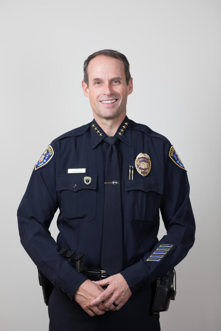 David Nisleit was promoted to the City of San Diego's 35th Chief of Police on March 2, 2018.