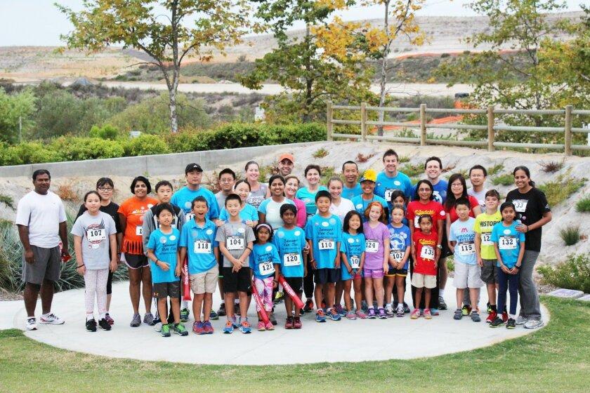 The Summer Run Club at Solana Ranch Park. Photos by Karen Billing