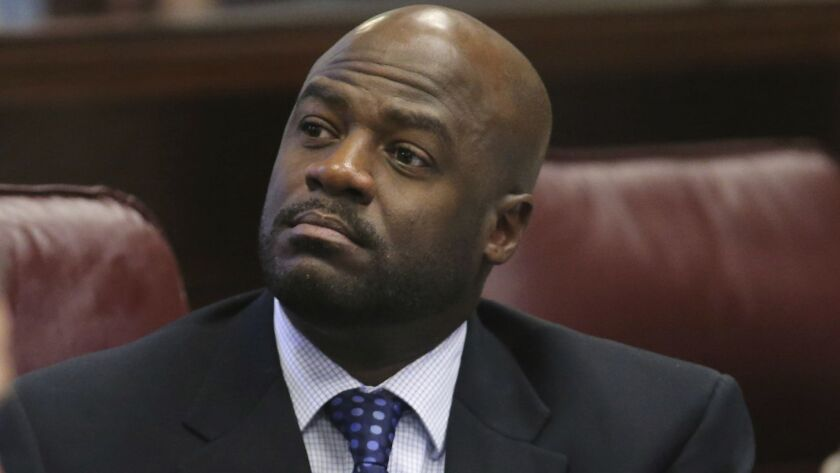 Nevada Senate Majority Leader Kelvin Atkinson announced on Tuesday that he is resigning from office after he misappropriated campaign funds for his personal use.