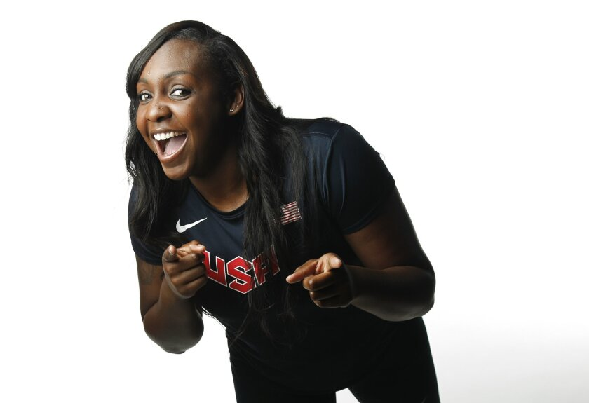 Whitney Ashley is a track and field athlete living at the Olympic Training Center in Chula Vista.