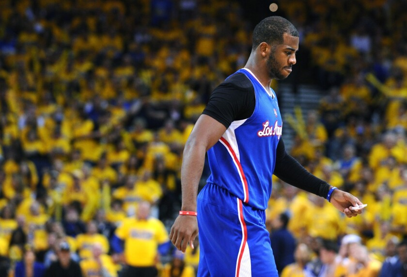 Chris Paul and the Clippers were eliminated from the playoffs last season for the third consecutive time since his arrival in Los Angeles in 2011.