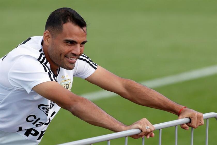 En la imagen, el defensor de la selección de Argentina Gabriel Mercado. EFE/Archivo