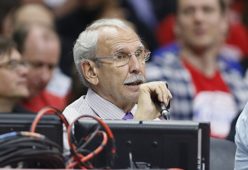 Longtime Clippers television broadcaster Ralph Lawler will return next year for his 37th season.