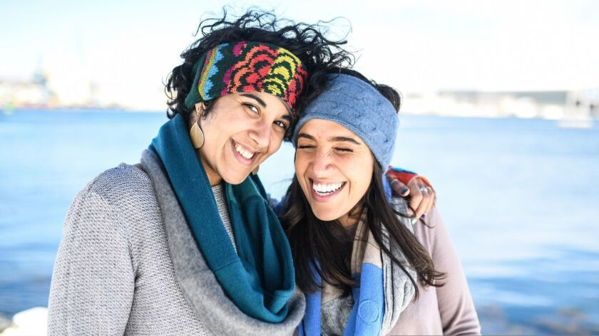Cashmere Circle Scarves, made from upcycled cashmere by Eco-friendly Jack and Mary Designs.