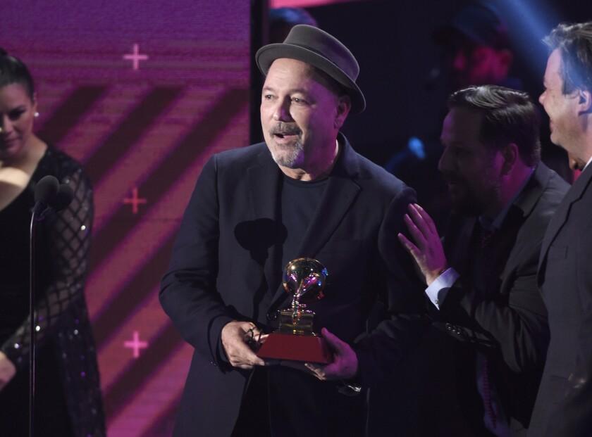 Rubén Blades en los Latin Grammy Awards del 2017.