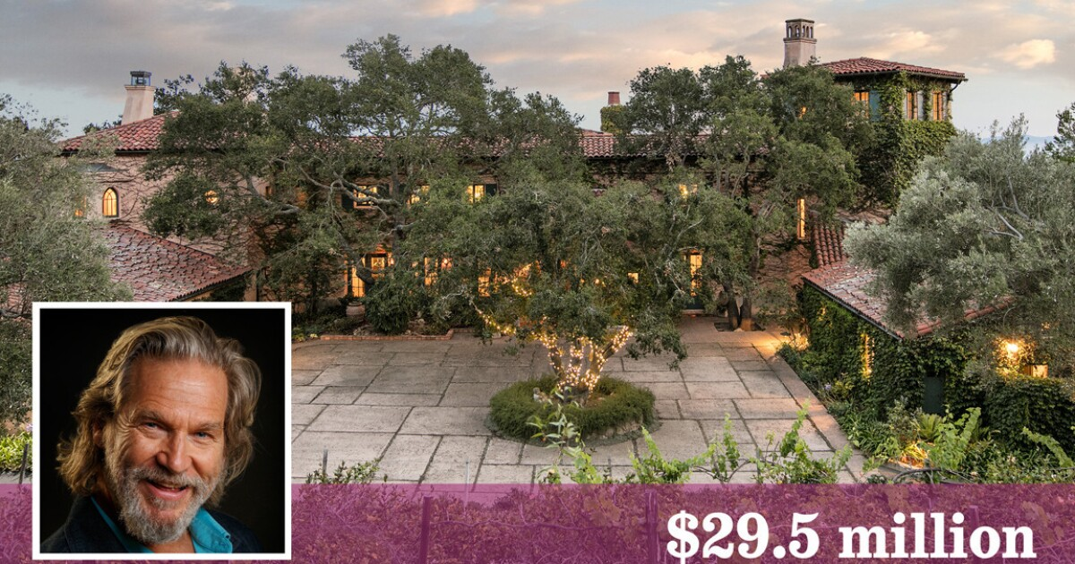 Actor Jeff Bridges is asking $29.5 million for his ...