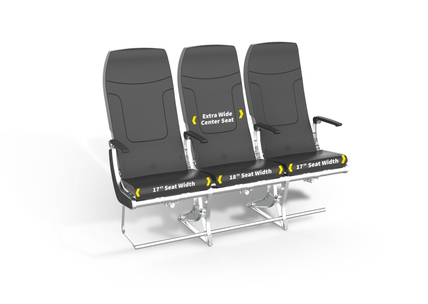Spirit Airlines hopes to improve its image with new seats featuring fatter cushions.