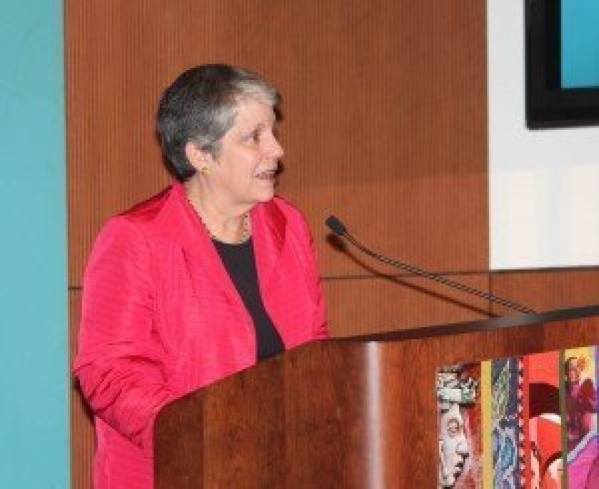 University of California President Janet Napolitano