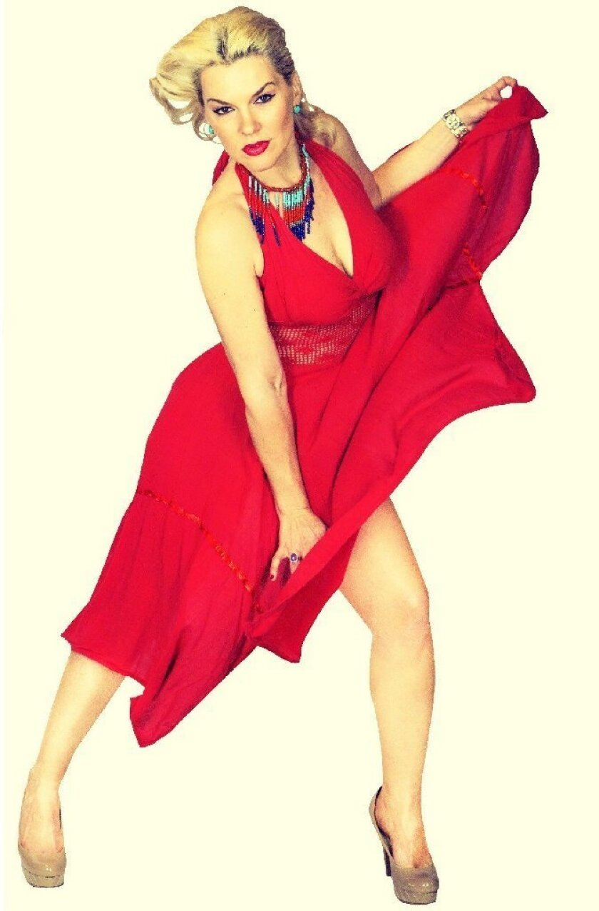 Salsa dancer Marilyn Klisser