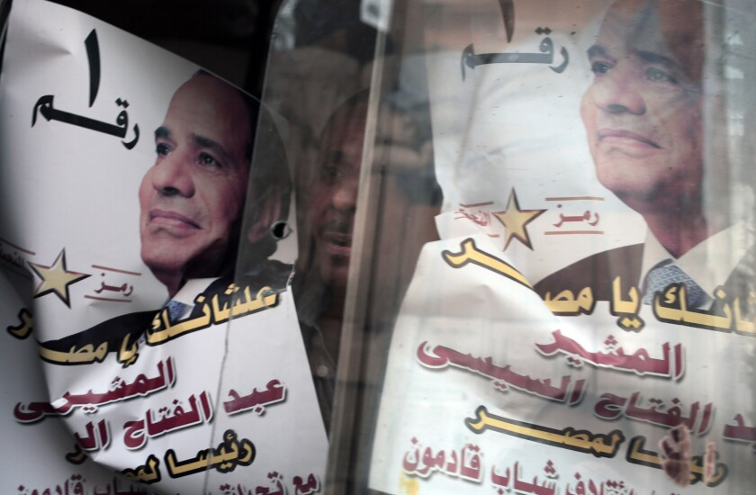 Abdel Fattah Sisi, who will almost certainly be Egypt's next president, will have to tackle the nation's economic woes.
