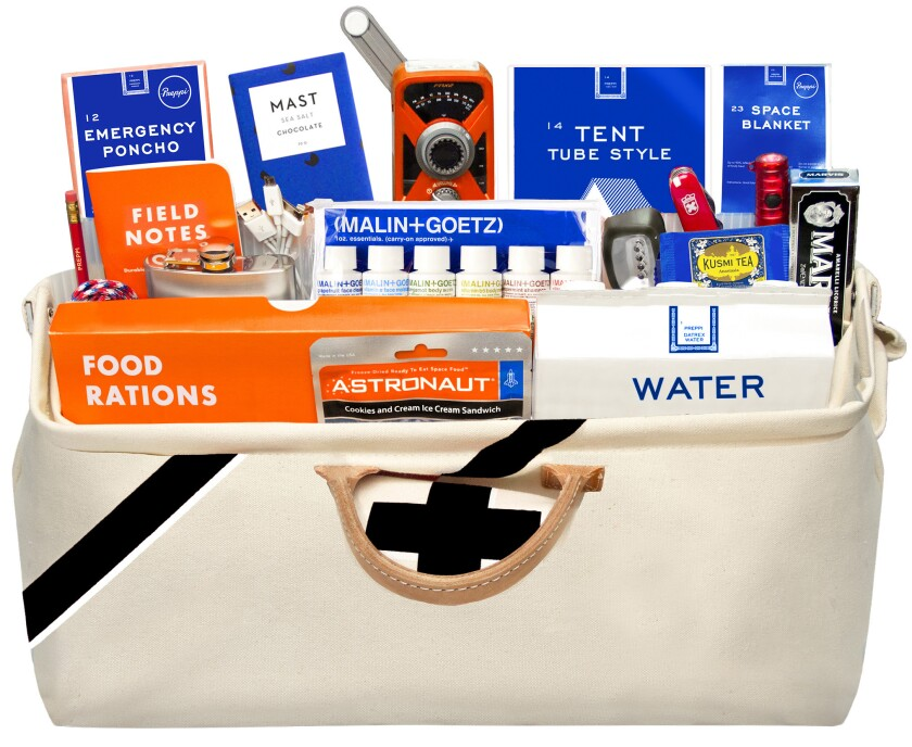 Prepster Bag - The grab-bag for emergencies is given a stylish gloss by Preppie Credit - Preppie