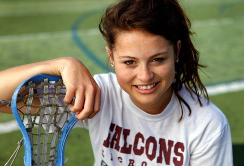Torrey Pines senior Chelsea Yogerst would like her lacrosse teammates to enjoy the championship feeling Yogerst savored as a member of the Falcons field hockey squad.