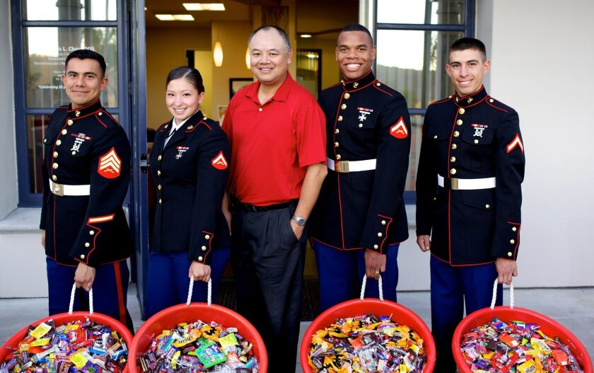 Dr. Curtis Chan is holding his 8th annual Great Halloween Candy Buy Back Nov. 10.