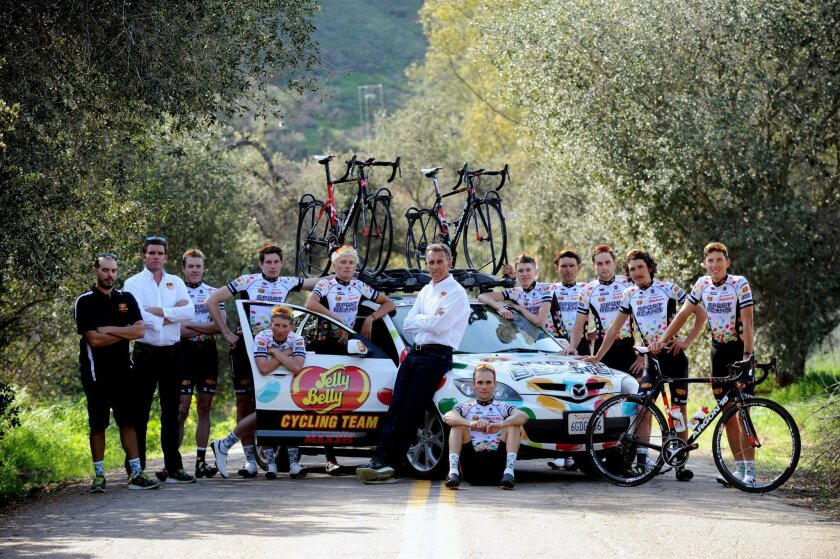 The Jelly Belly Cycling Team. (HODES/VeloImages)