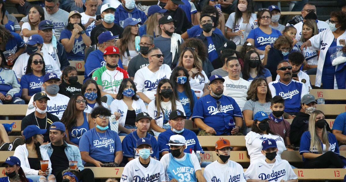 Vaccine-or-test requirements coming to Dodger, SoFi stadiums - Los Angeles Times
