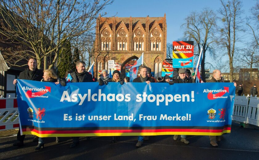 Germany's refugee crisis turns it ominously to the right