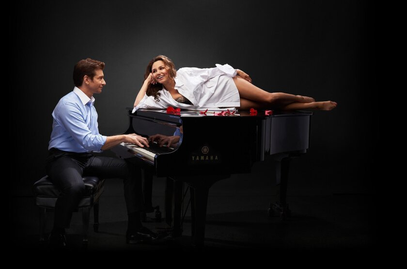 Pretty Woman: The Musical. Pictured are Samantha Barks (Vivian) and Andy Karl (Edward).