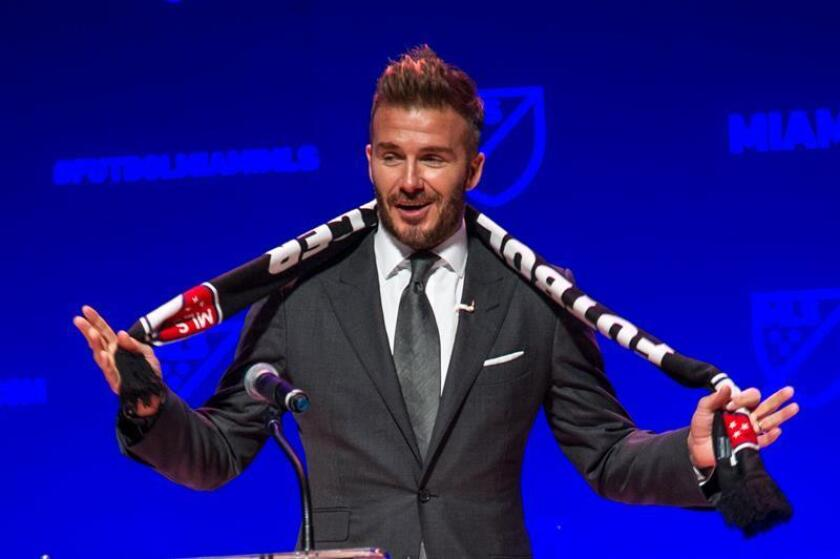 En la imagen, el exfutbolista británico David Beckham. EFE/Archivo