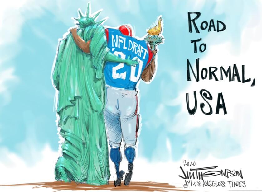 NFL draft 2020.
