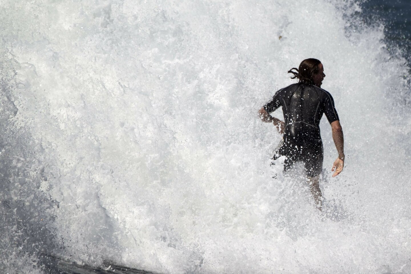 Southwest swell brings big waves