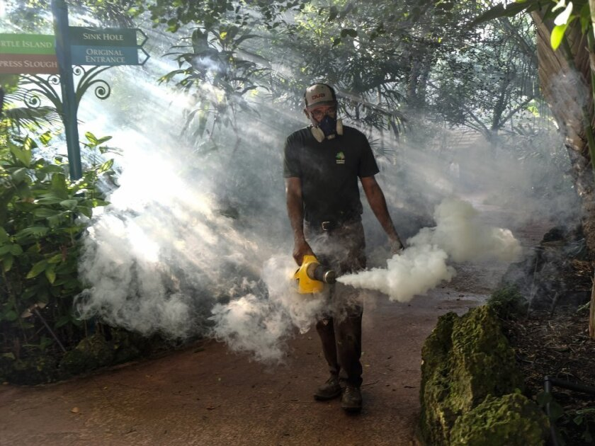 Zika Florida sprayings