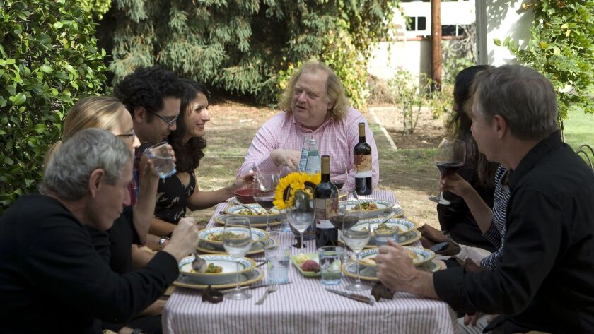 Jonathan Gold, restaurant critic for the Los Angeles Times.