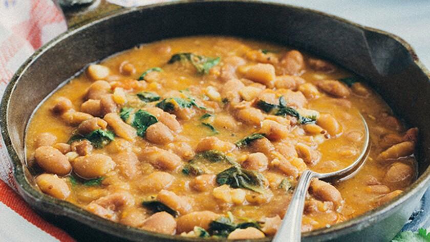 Soldadera beans.