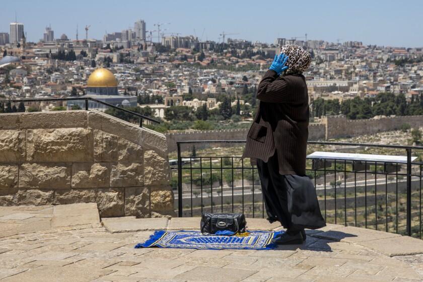 Virus Outbreak Israel Ramadan