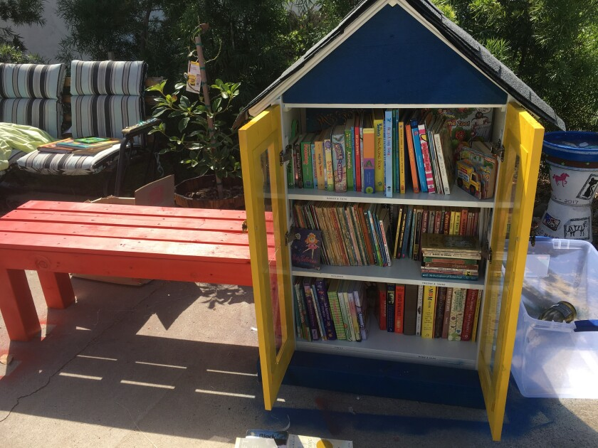 Little Library at Father Joe's Villages