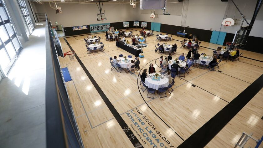 The redesigned gym is among the first projects completed in an ongoing $20-million campus modernizat