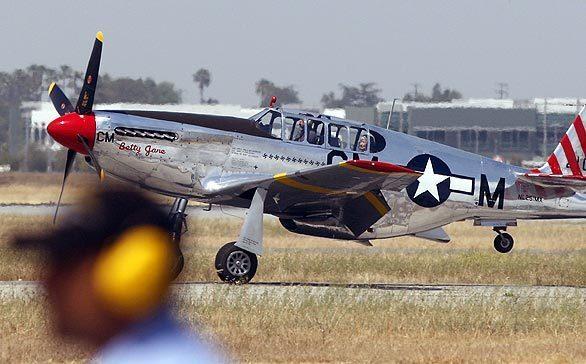 Dual-control P-51C Mustang