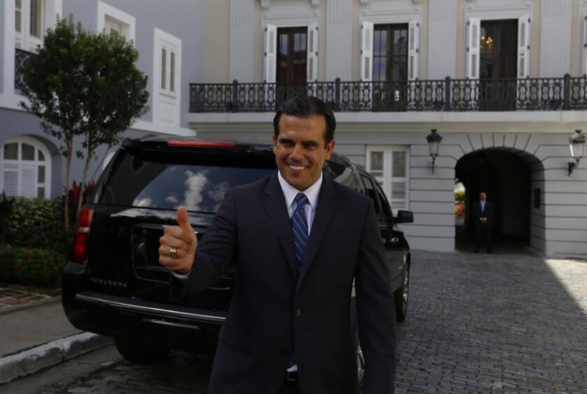 El gobernador electo y presidente del PNP, Ricardo Rosselló, dijo en conferencia de prensa que en esa reunión de órganos de dirección del PNP se analizará la petición de dimisión contra Ortiz, acusado de extorsión y soborno por la Justicia federal, por lo que fue suspendido de sus funciones públicas. EFE/Archivo