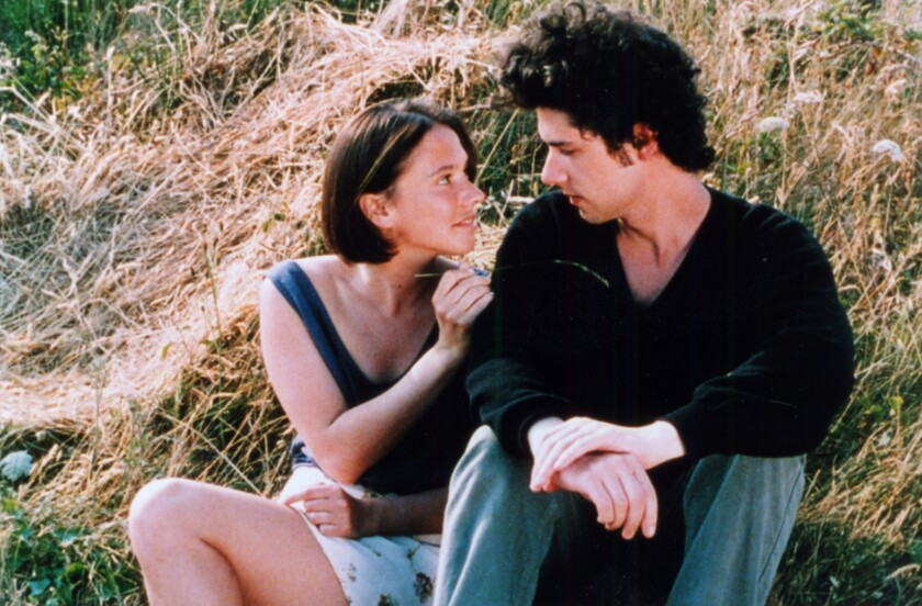 """Amanda Langlet (Margot) and Melvil Poupaud (Gaspard) in """"A Summer's Tale."""""""