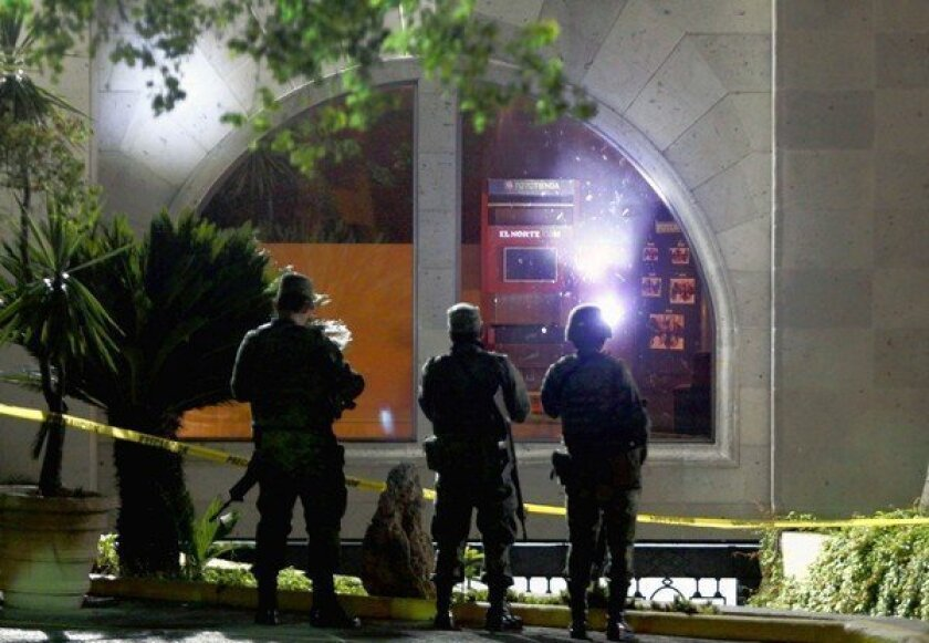 Mexico cartel attacks on press take toll on drug war coverage