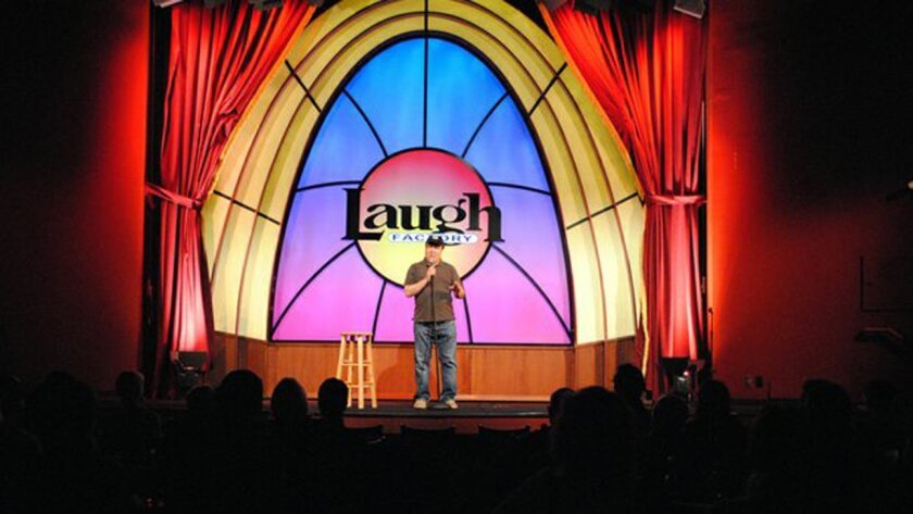 Dom Irrera performs at the Laugh Factory in Lakeview.