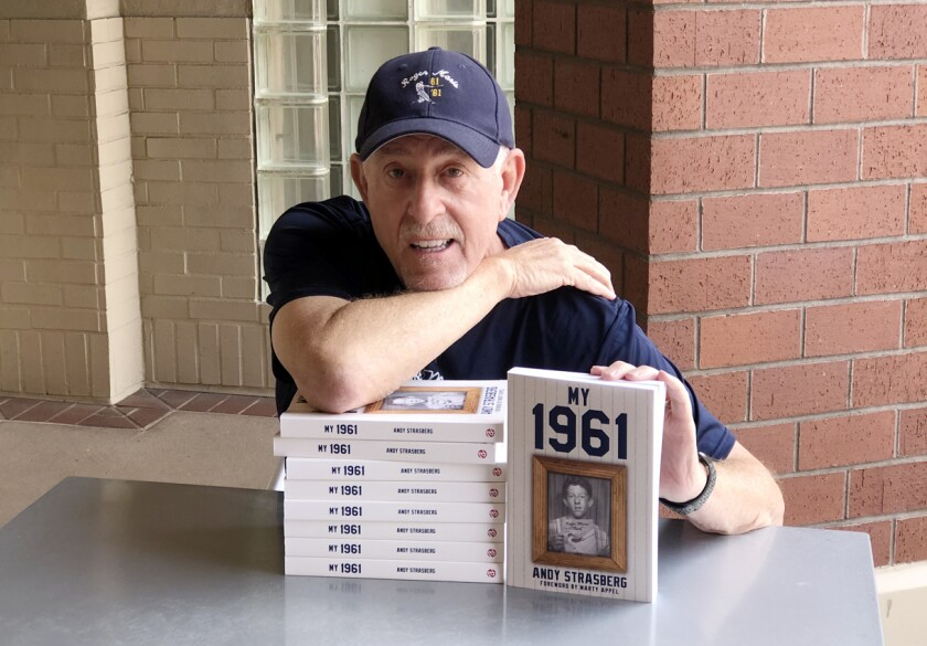 """Andy Strasberg weaves personal experiences as a 13-year-old with """"The Year of the Home Run"""" in his book """"My 1961."""""""