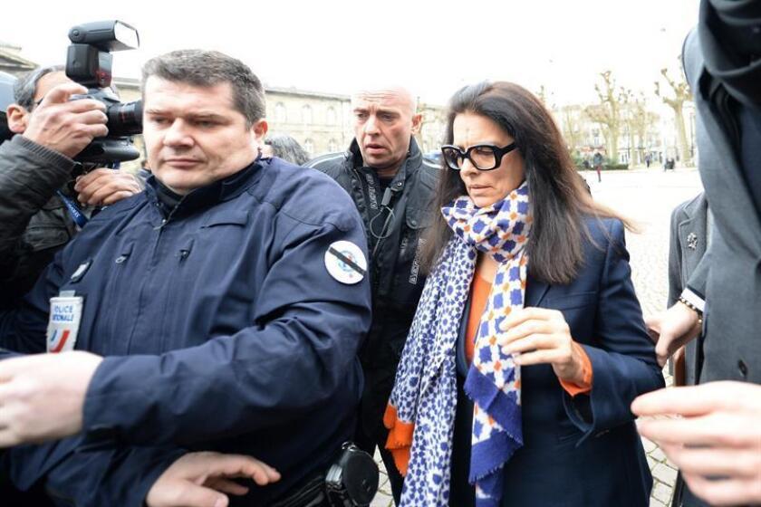 Françoise Bettencourt-Meyers, la mujer más rica de Francia y del mundo. EFE/Archivo
