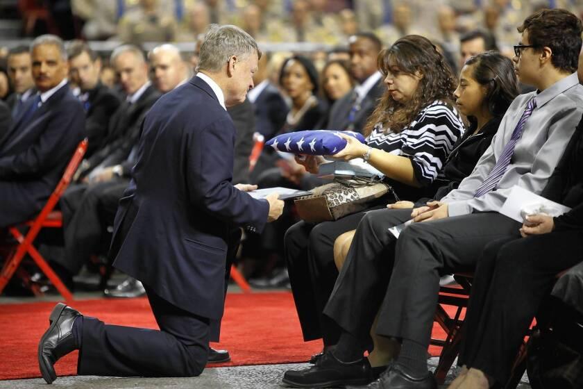Slain TSA agent recalled for bravery and valor