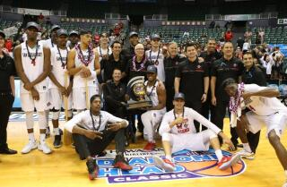 Aztecs beat USF, win Diamond Head