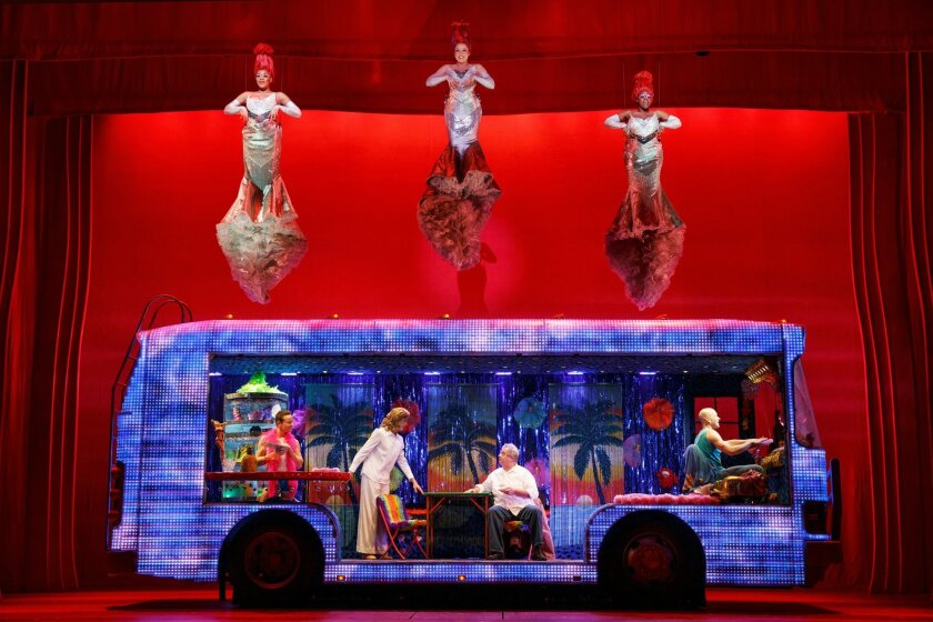 """Priscilla Queen of the Desert"" tour. MANDATORY CREDIT: Joan Marcus"
