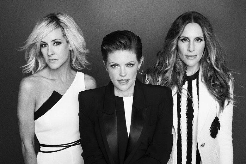 From left: Martie Maguire, Natalie Maines and Emily Strayer of the Dixie Chicks