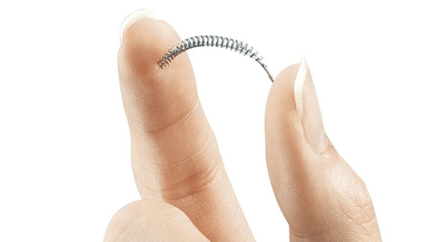 Bayer announced Friday that it will stop selling its controversial birth-control device Essure.